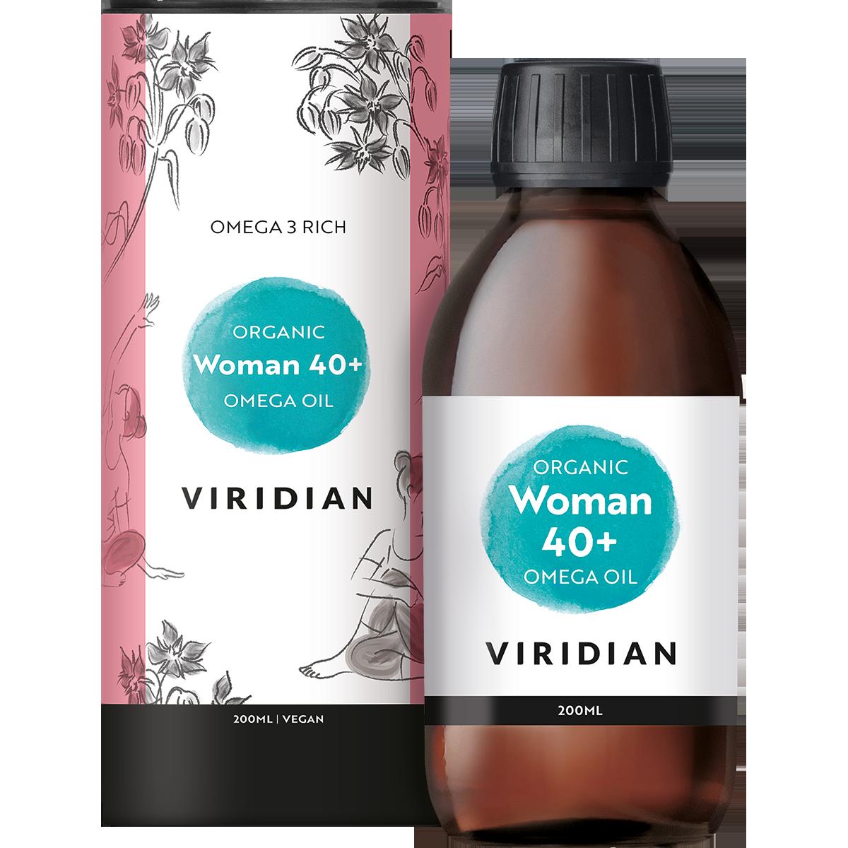 Organic Woman 40+ Omega Oil
