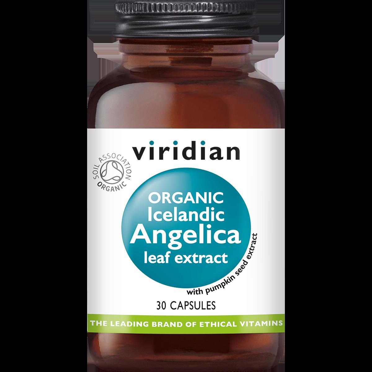Organic Icelandic Angelica Leaf Extract